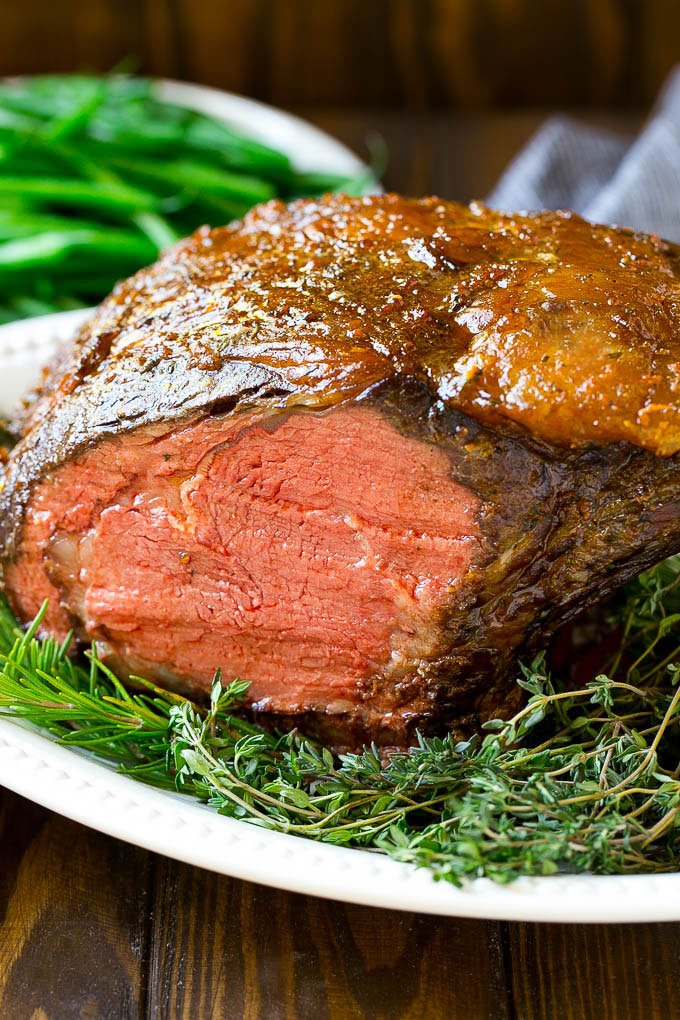 Smoked Prime Rib - Dinner at the Zoo
