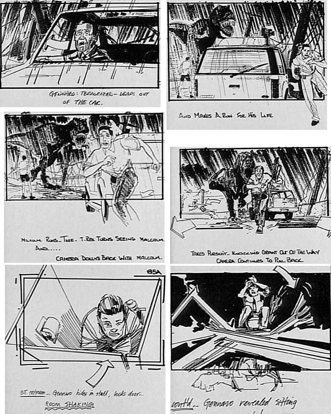 Jurassic Park 3 jurassic park storyboards Pinterest - film storyboards
