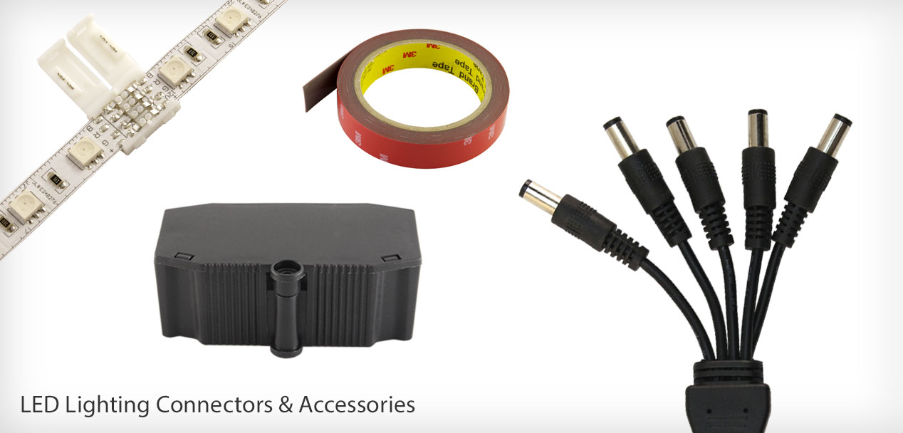 LED Lighting Connectors, Wire, and accessories Diode LED