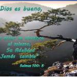 Porque el Señor es Bueno Y su Gran Amor es Eterno  (Salmo 100:5)
