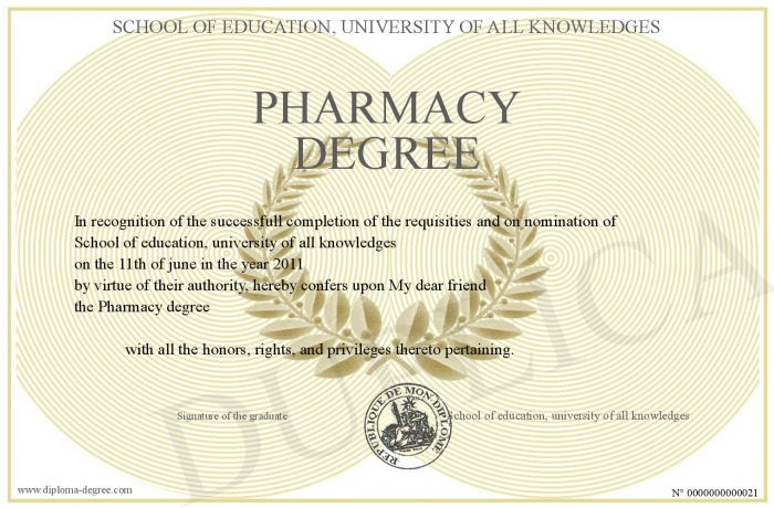 Most pharmacy schools require a bacheloru0027s degree before the four - resume examples for highschool students