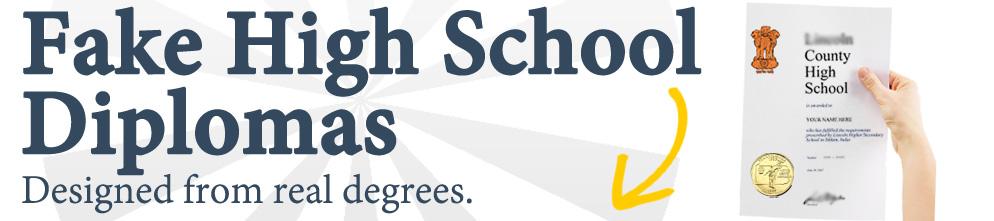 Premium Fake High School Diplomas, Degrees, Transcripts, etc
