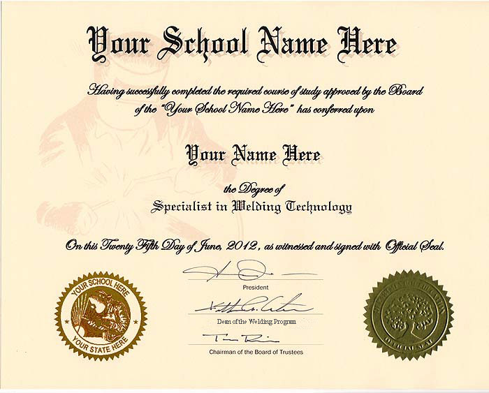 Fake Automotive Certificate Online in USA - Diplomas and More - sample school certificate
