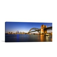 Sydney Harbour At Twilight Wall Art Print In Art For Sale