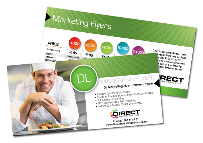 DL Marketing Flyers - marketing flyer