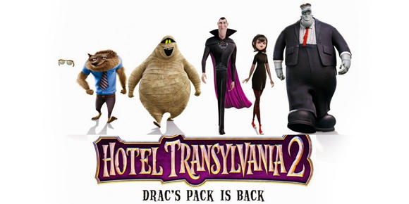 Hotel Transylvania 2 and other nonsense.