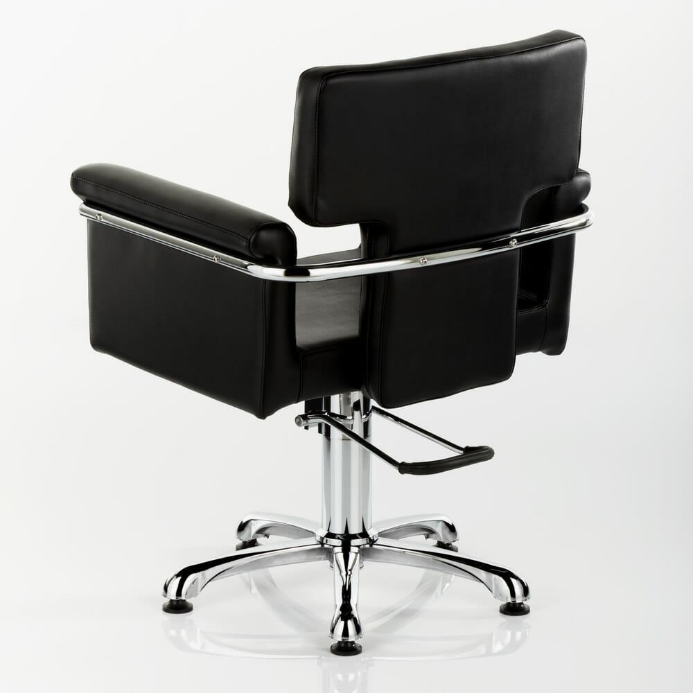 Laser Hydraulic Styling Chair In Black Direct Salon