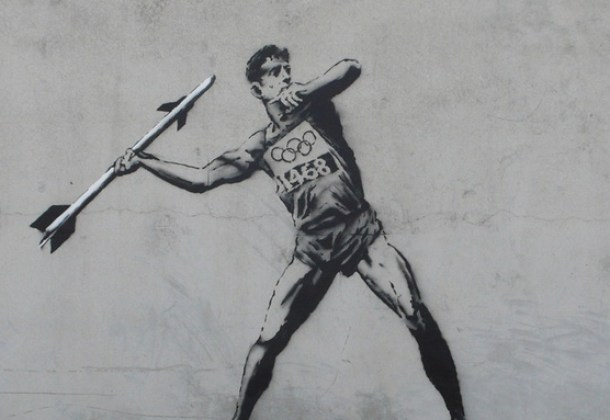 Banksy at the Olympics
