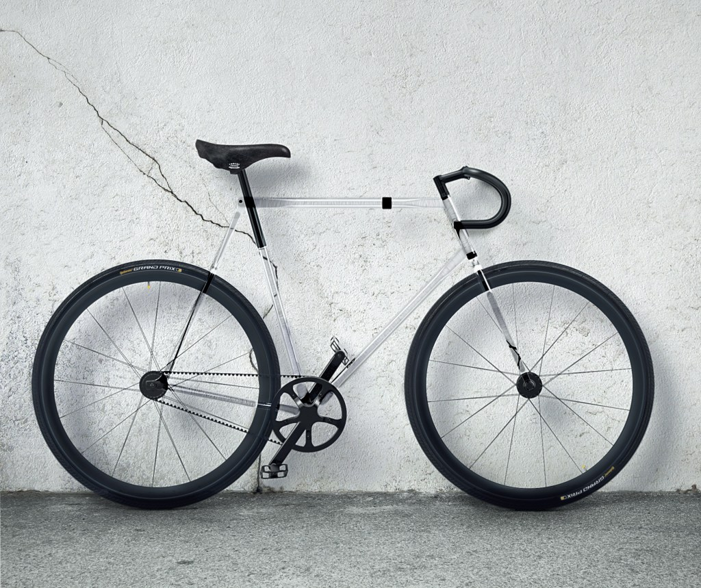 designaffairs STUDIOs Fully Transparent Bike