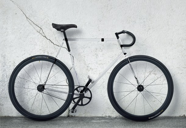 designaffairs STUDIO's Fully Transparent Bike