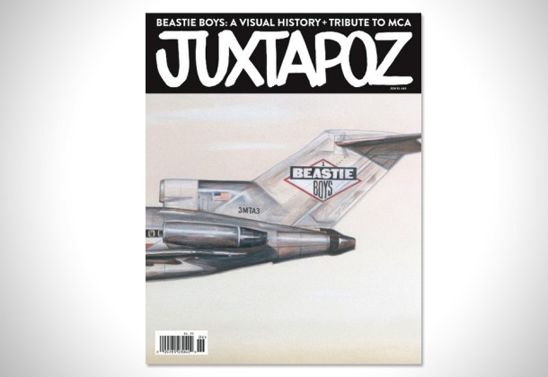 Juxtapoz Magazine &quot;Beastie Boys: A Visual History + Tribute to MCA&quot;