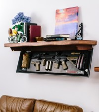 These Shelves Will Conceal Your Guns In Plain Sight ...