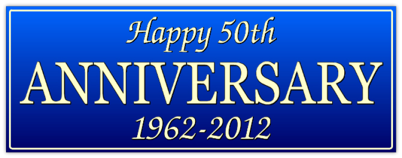 Happy Anniversary Banner - Special Occasion Banners