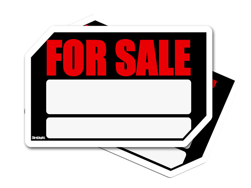 The Ultimate Dirt Bike For Sale Signs - sale signs