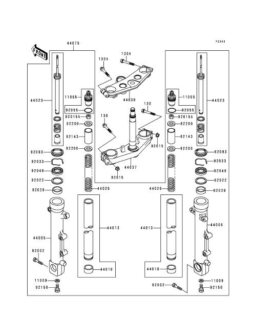kawasaki zrx 1100 wiring diagram
