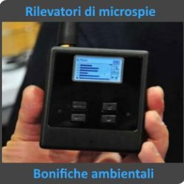 Rilevatori di Microspie