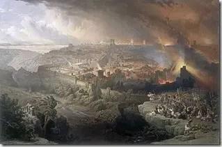 Destruction of Jerusalem 70AD
