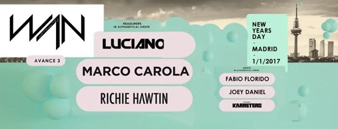 WAN FESTIVAL 2017 NYE MADRID 01 01 2017