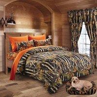 20 Lakes Woodland Hunter Camo Comforter, Sheet ...