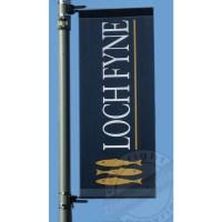 Lamp Post Banners - Printed Lampost Banner Advertsing
