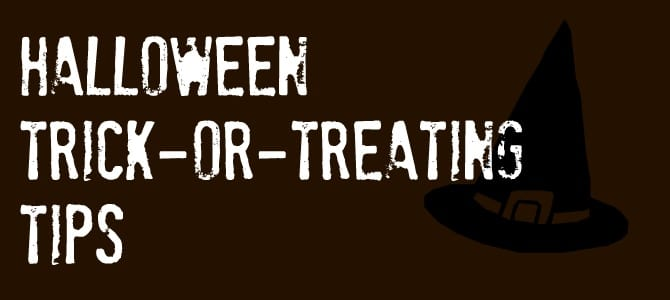 Halloween Trick-or-Treating Tips