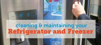 Cleaning and Maintaining Your Refrigerator