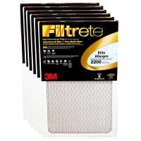 3M Filtrete 16x25x1 Elite Allergen Reduction Air Filter (6 ...