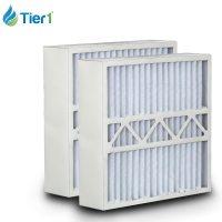 Carrier 16x25x5 Merv 11 Replacement AC Furnace Air Filter ...