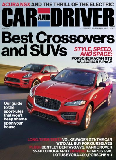 Car and Driver Magazine | Intelligence. Independence. Irreverence. - DiscountMags.com