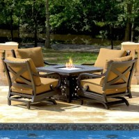 Top-rated Conversation Patio Sets with Fire Pit Tables ...