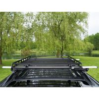 "Apex Low Profile Steel Roof Cargo Basket - 39-1/2""L x 36""W ..."
