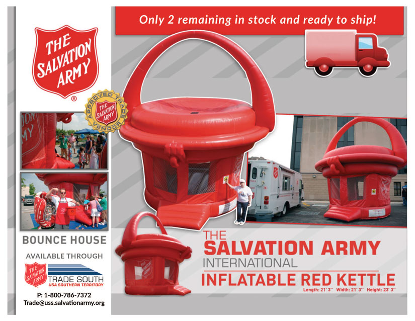 Discounts MyTradeSouth Kettle Bounce House