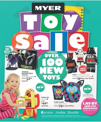 Myer Toy Sale September 2013 With More Than 100 Toys - christmas toy sales