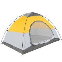 Swift-n-Snug Waterproof 2-Person Dome Zip Door Camping ...