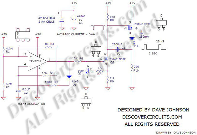 more led flasher circuits hobby circuits category list email david