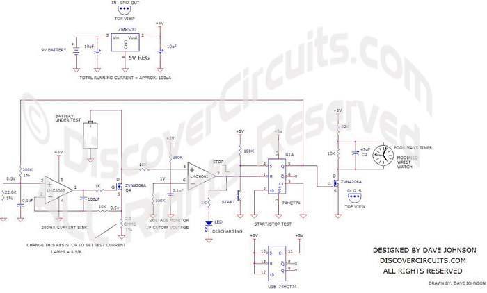 circuit 389 battery amphour capacity tester