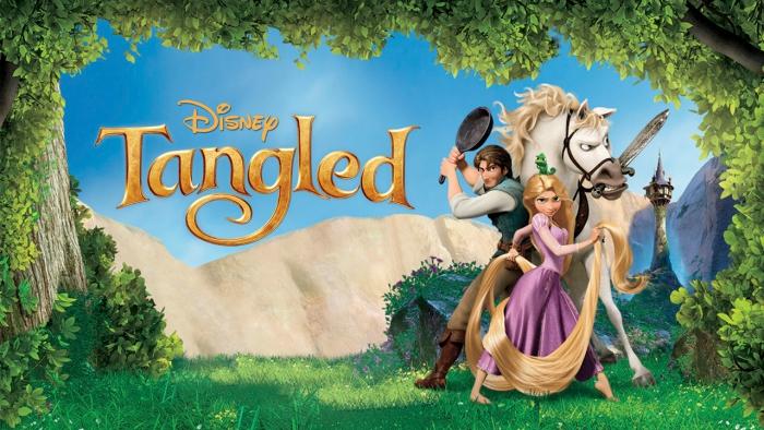 Tangled on Netflix