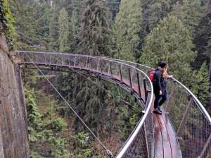 Places to See: Capilano Suspension Bridge