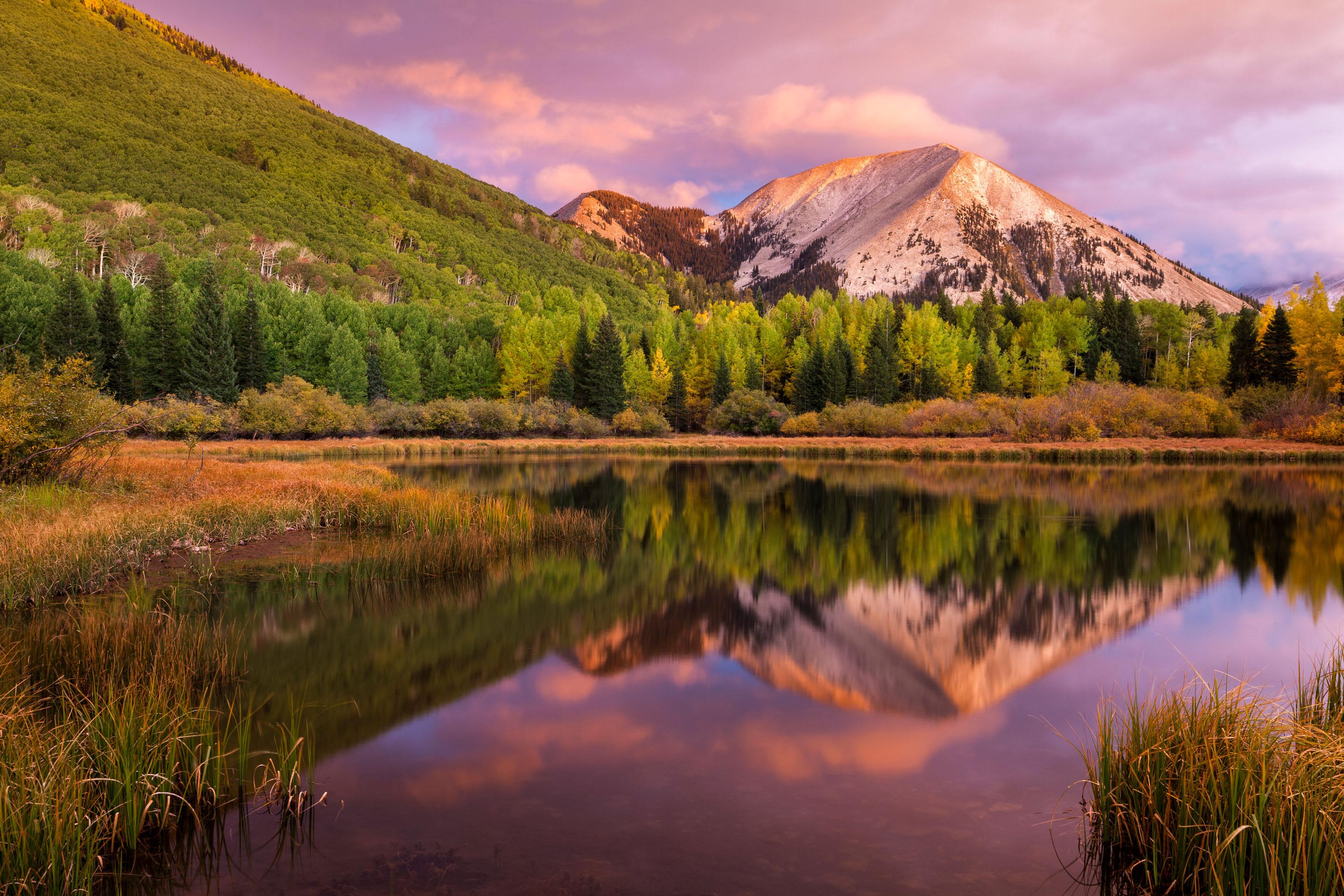 Wallpaper Fall Weather La Sal Mountains Discover Moab Utah