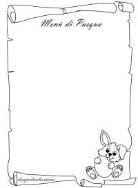Immagini Di Pergamena Da Colorare Cornice Pergamena Con Fiori