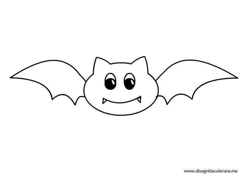 Pipistrello Da Colorare