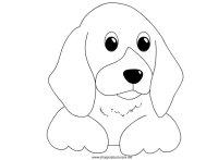 Cane da colorare | Disegni da colorare