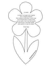 Poesia La Madre  Victor Hugo | Disegni da colorare