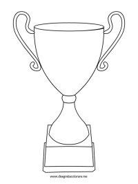 Coppa Dei Campioni Da Colorare Coppe Da Colorare