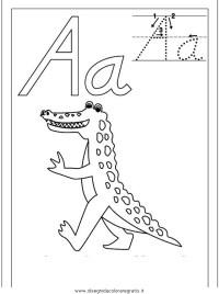 Disegno esercizi_scrittura_48 categoria alfabeto da colorare