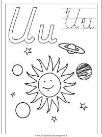 Disegno esercizi_scrittura_68 categoria alfabeto da colorare