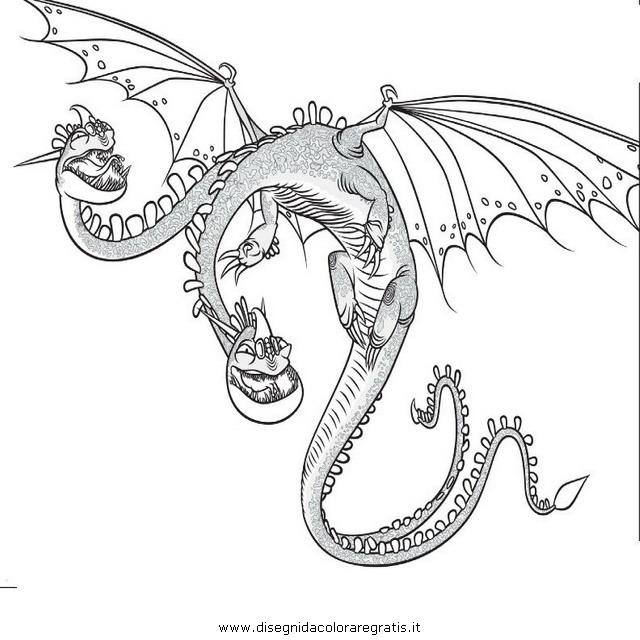 disegno dragon trainer 24 personaggio cartone animato da