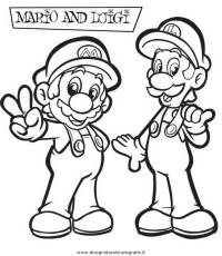 Disegno mario_bros_13: personaggio cartone animato da colorare