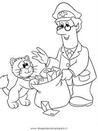 Disegno postino_pat_14: personaggio cartone animato da