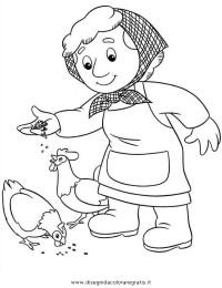 Disegno postino_pat_35: personaggio cartone animato da